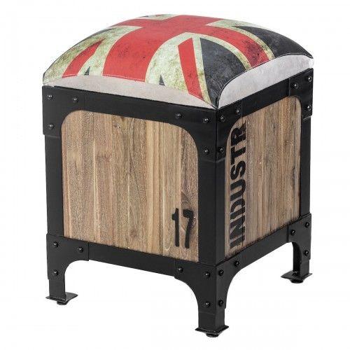 Hibala   furniture bangku kayu jati besi unik industrial modern kafe