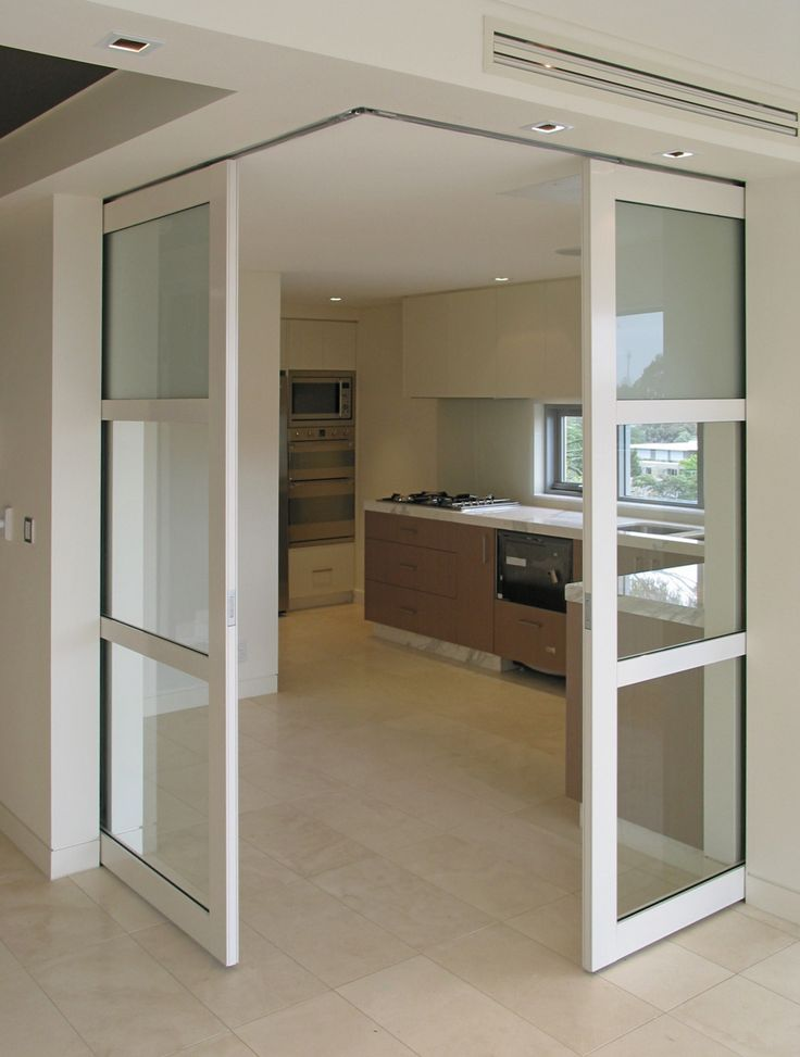 Best 25 sliding pocket doors ideas on pinterest for Sliding glass doors kitchen