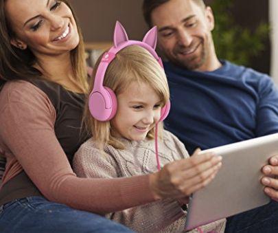 *HOT*  iClever Cat Ears Kids Headphones ONLY $8.90 on Amazon! (Originally $19!)