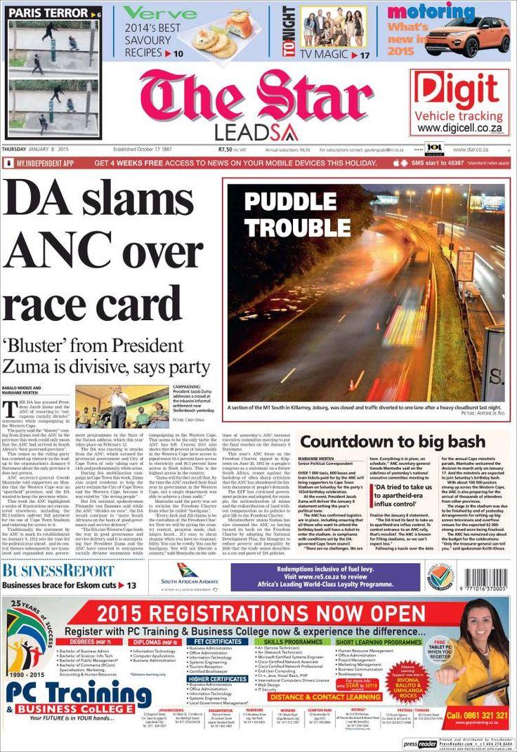 Afrique du Sud - The Star