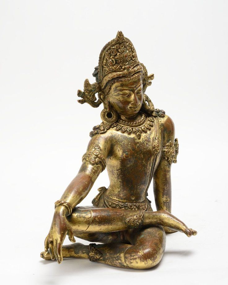Hindu Cosmos — Indra 15th Century CE, Nepal. Bronze. Indra was...