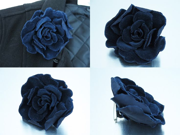 Image result for velvet flower brooch