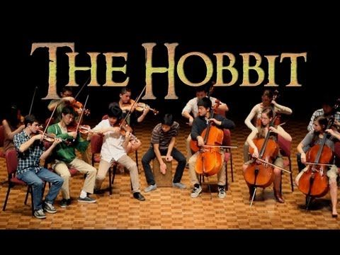"You are welcome Pinterest.  Is this not GORGEOUS!?!  ""The Hobbit - Misty Mountains Orchestral Cover"""