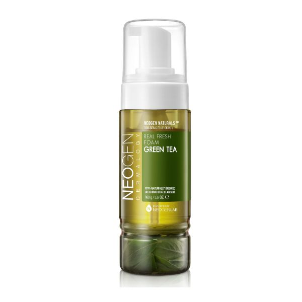 Green tea facial cleanser have faced