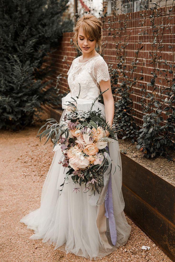 Borrowed Blue Bliss A Wedding Story In Dusty Blue Country Wedding Dresses Cheap Bridal Dresses Cheap Wedding Dress [ 1104 x 736 Pixel ]