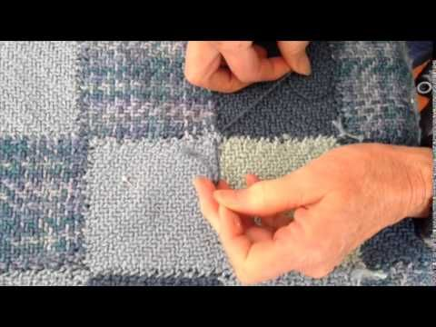 Add tacks to your baby blanket with this helpful tutorial
