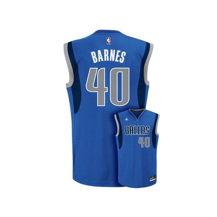 Men's Adidas Dallas Mavericks Harrison Barnes NBA Replica Jersey, Size: Medium, Brt Blue