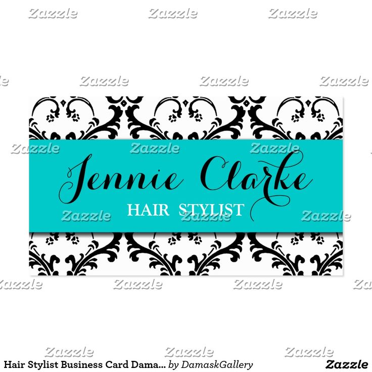 59 best business cards bold images by shopping with adam on hair stylist business card damask blue reheart Gallery