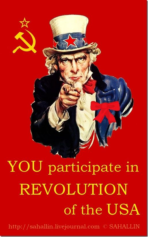 You participate in revolution,Америка,США,революция,плакат,Дядя Сэм,America,USA,revolution,poster,Uncle Sem,sahallin