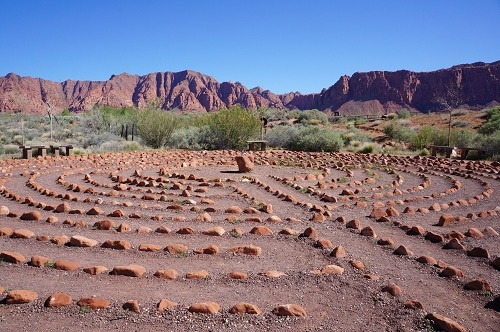 Art Village Desert Rose Labyrinth Gardens Images Pinterest