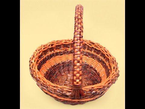 ▶ Basket weaving. Holders. Part 6. - YouTube