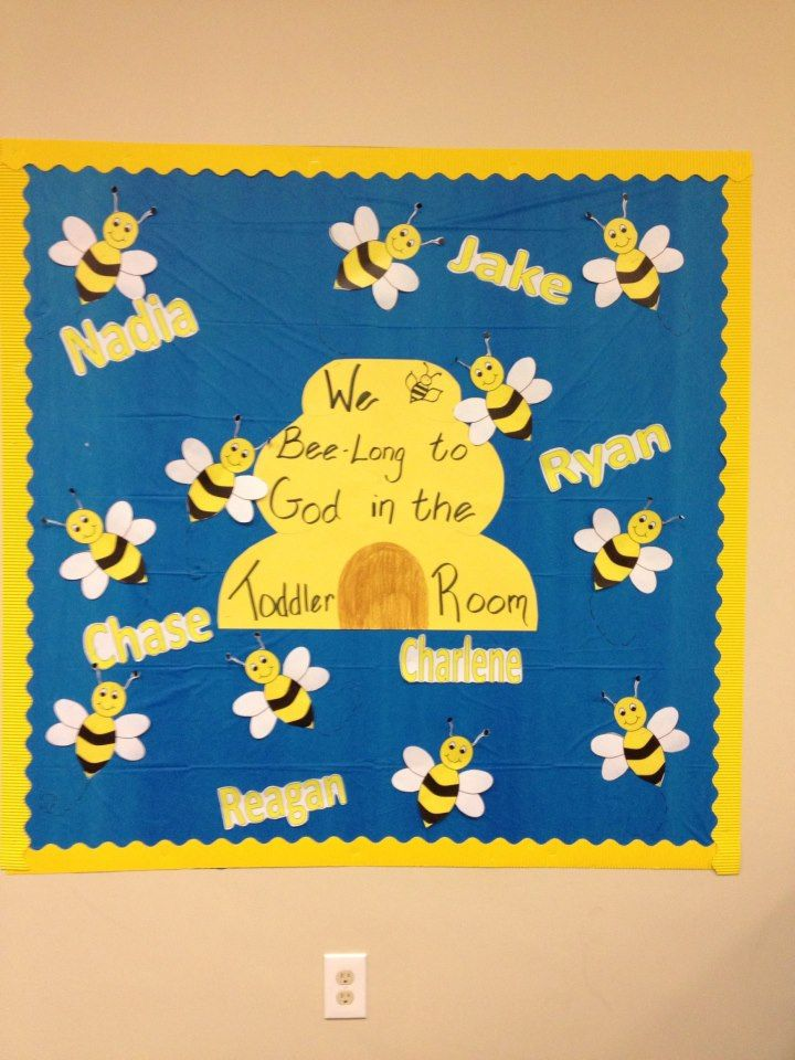 Toddler Classroom Bulletin Board Christian Education