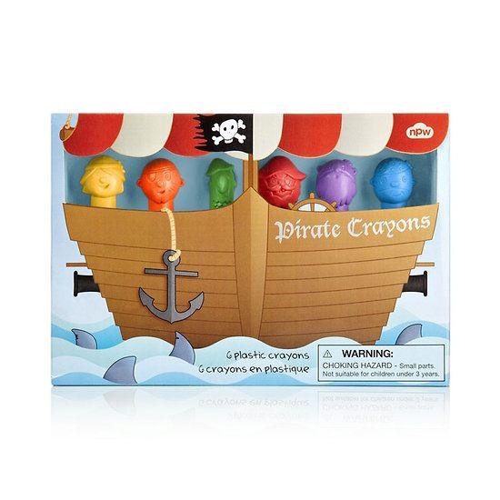 Crayon de couleur enfant Pirates 6.50 € cmachambre.fr