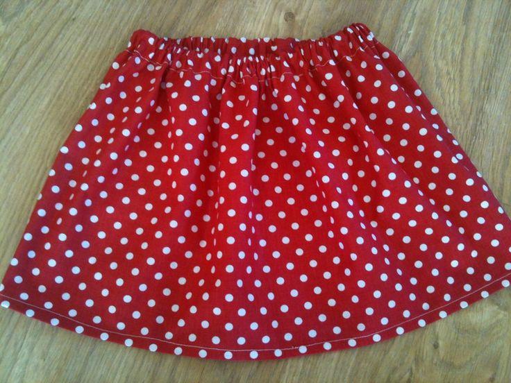 Tuto couture facile ma premi re jupe pour melle l le blog de mademoiselle petit pois - Tuto jupe facile elastique ...