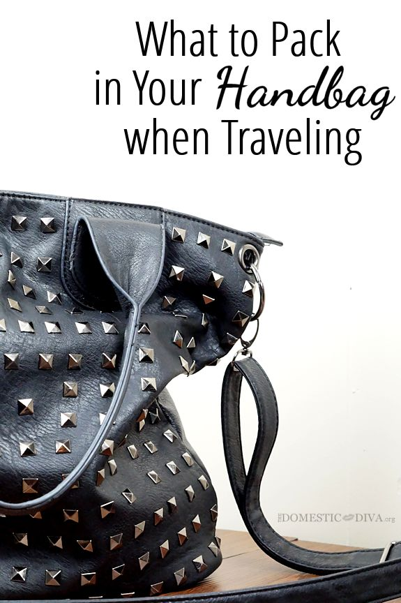 What to Pack in your Handbag when Traveling
