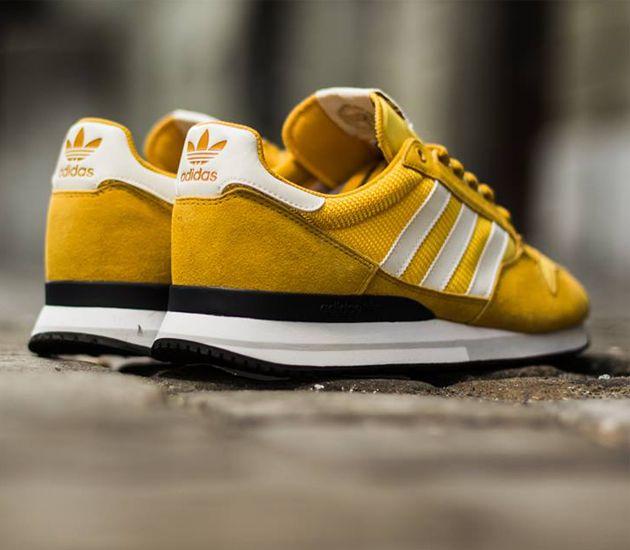 adidas Originals ZX 500-Sunshine-St-Nomad Yellow