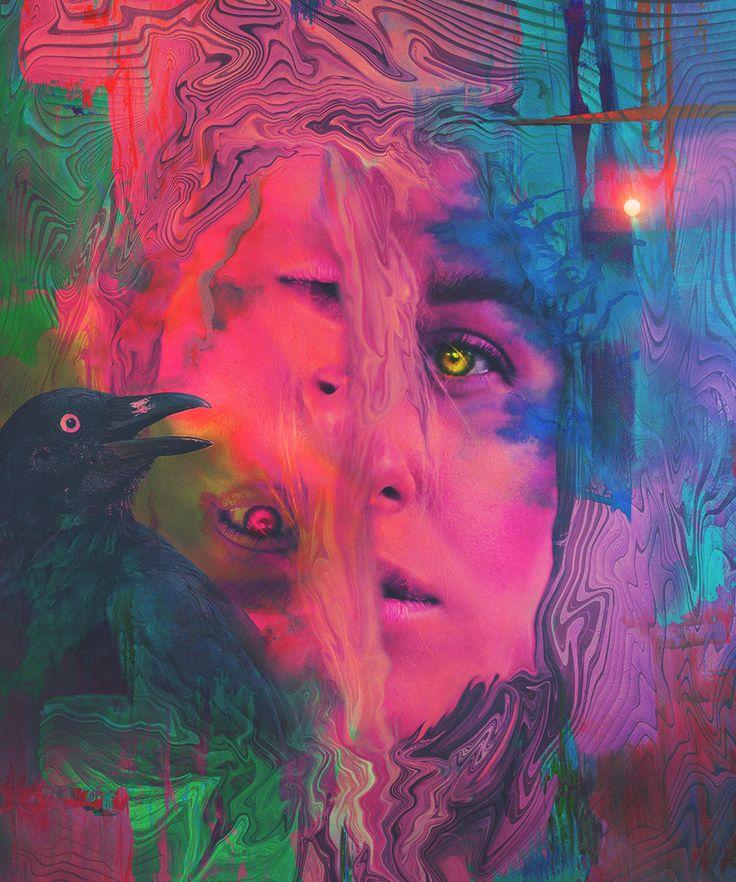 Schizophrenia artwork by me. Schizophrenia art