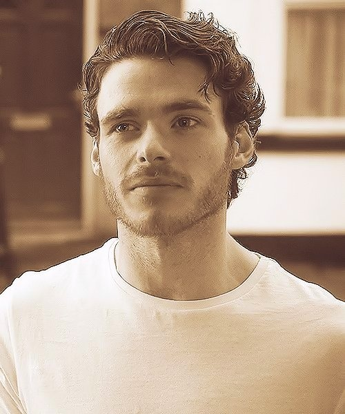 The king of the North gets my vote for Mr. Grey. (Richard Madden)