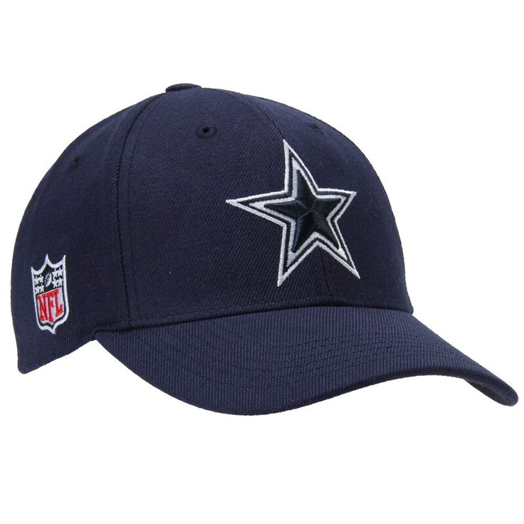 Dallas cowboys navy blue basic logo adjustable hat in 2021