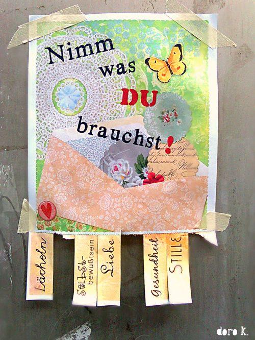 """""""Nimm was DU brauchst!"""" Flyer zum Ausdrucken"""