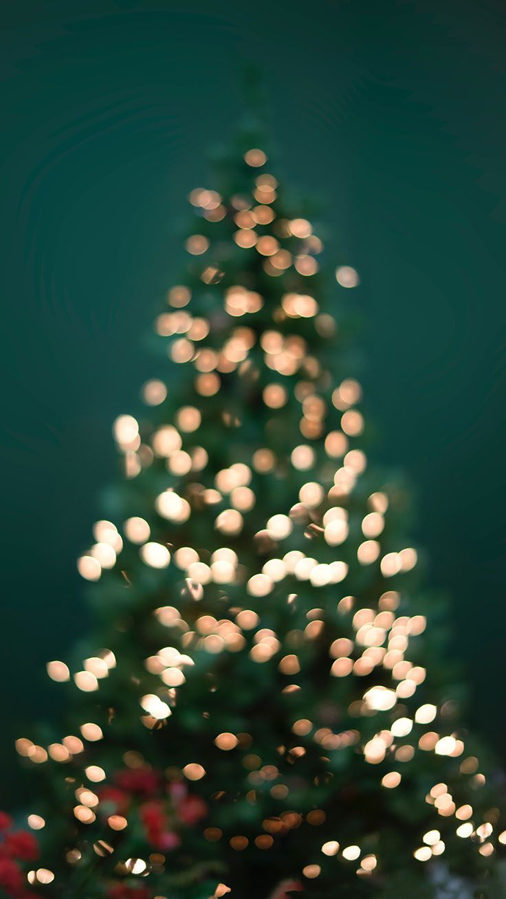 35 Sparkly Christmas Iphone Xs Max Wallpapers Tree