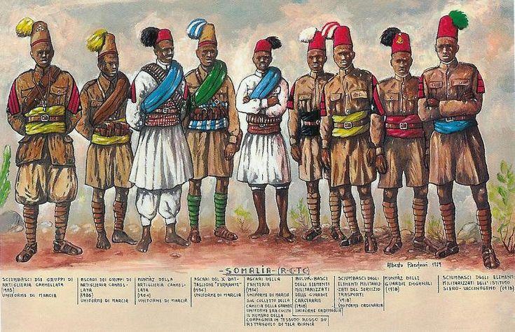 ASCARI DEL REGIO CORPO TRUPPE COLONIALI DELLA SOMALIA