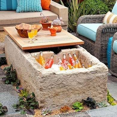 10 Impressive DIY Ways To Keep Your Drinks Cooler On Your Outdoor Party | World inside pictures