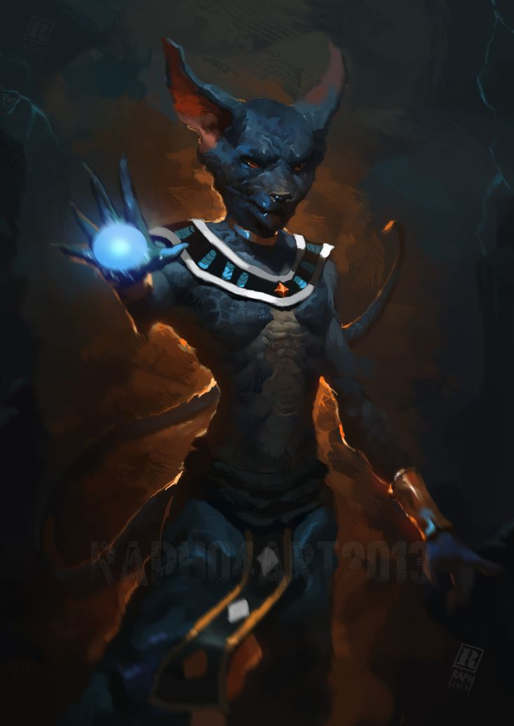 Dragon ball Z  Battle of Gods-  Lord Bills by Raph04art