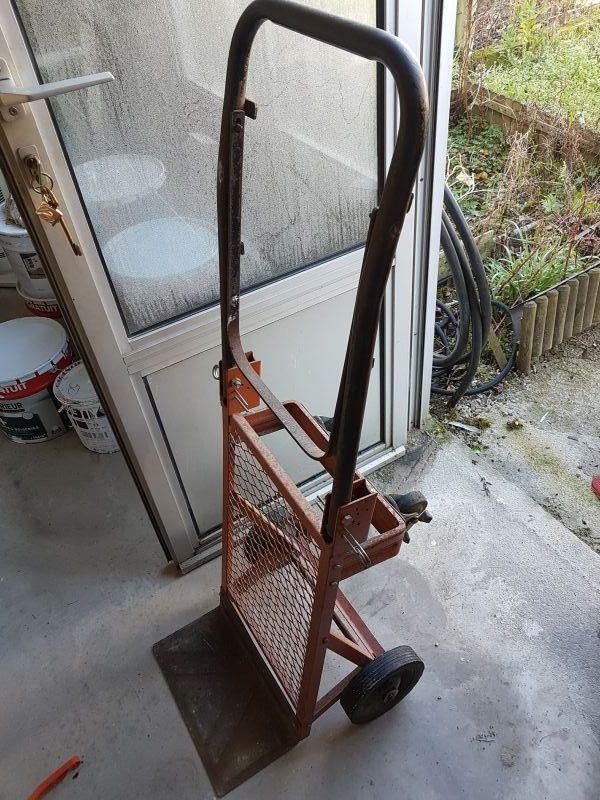 diable rigide   position chariot très solide