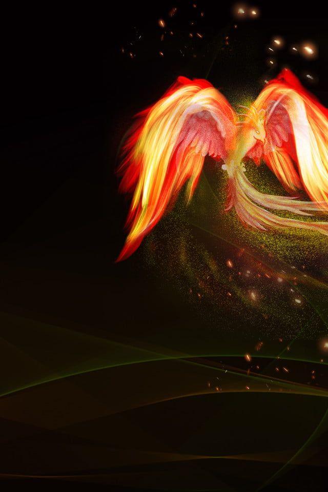 Latar Belakang Anime Poster Permainan Api Api Phoenix Anime Background Photoshop Backgrounds Free Photoshop Backgrounds