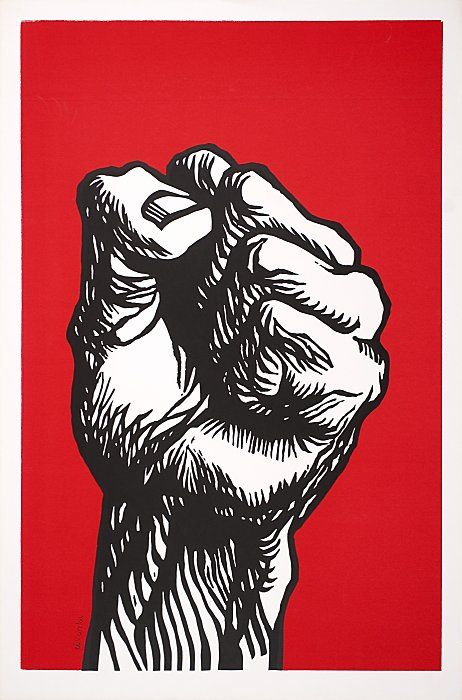 """Political posters collection at """"The 1968 Exhibit"""" at Oakland Museum"""
