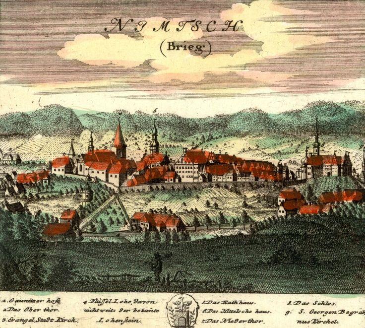 Niemcza (Nimtsch) - Rok 1737