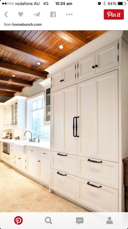 integrated fridge dream home stuff pinterest integrated