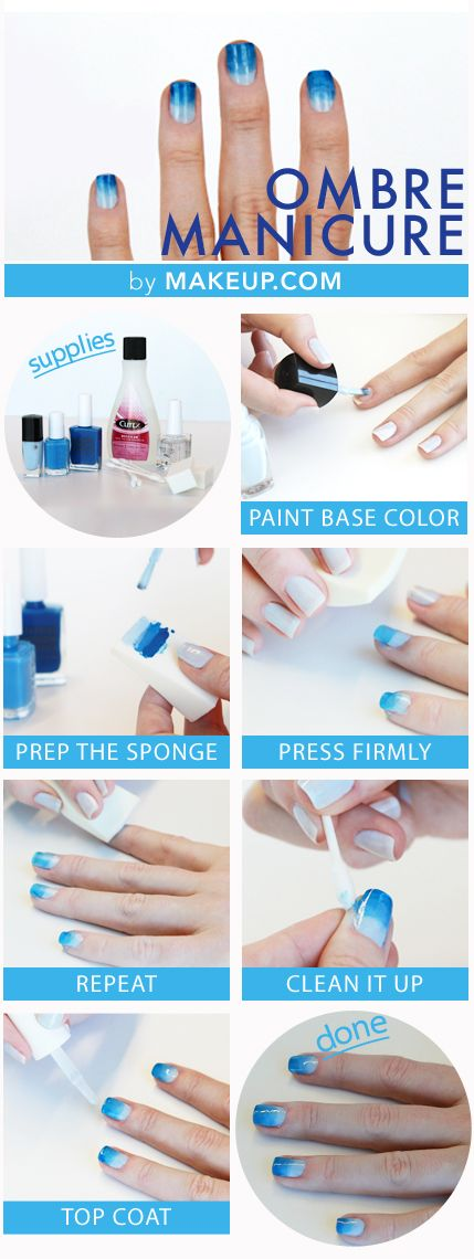 OMBRE MANICURE HOW TO