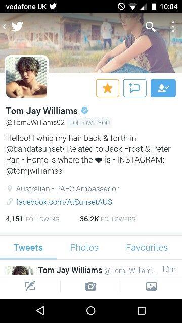 Tom Jay Williams - 5/7/15 10:04