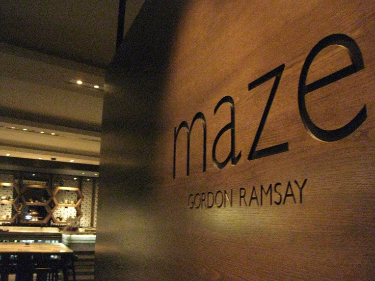 The most expensive restaurant I've ever visited! Maze by Gordon Ramsay in Melbourne