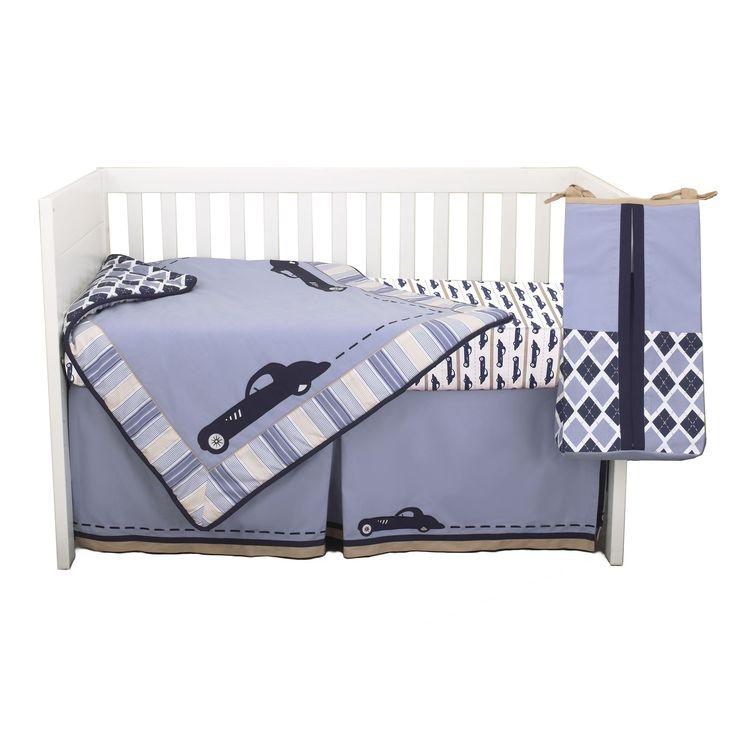 Petit Tresor Luca 4-piece Boy Crib Bedding Set