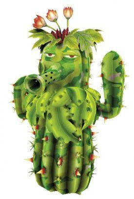 Cactus de camuflaje (Plants vs Zombis Garden Warfare)