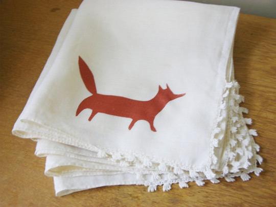 fox teatowelFoxes Dinner, Foxes Prints, Napkins Screens, Foxy Friends, Foxes Teatowel, Foxes Napkins, Foxy Napkins, Copper Foxes, Dinner Napkins