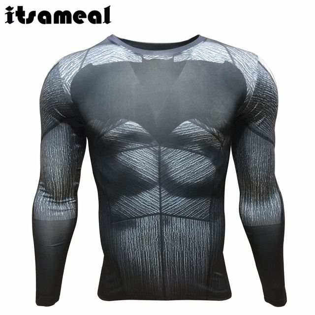 Good price Itsameal 2016 Batman VS Superman Costumes Compression Men's T-Shirt Long Sleeve High Elastic Milk Fiber Raglan 3D Printed Tops just only $11.90 with free shipping worldwide  #tshirtsformen Plese click on picture to see our special price for you