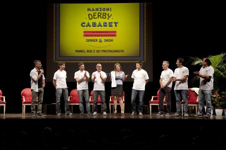 Curiosi di scoprire i nuovi talenti del cabaret? Venite a Manzoni Derby Cabaret!