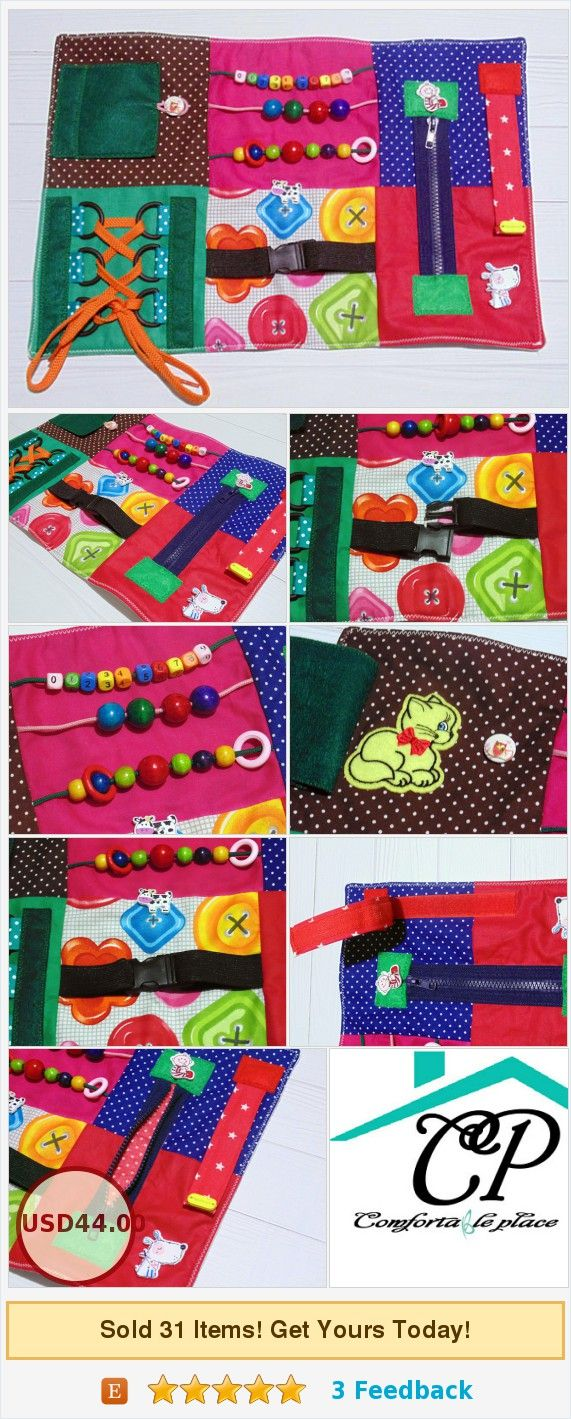 skills board busy blanket fidget quilt blanket Toddler Busy board therapy tool t…ComfortablePlace/MaxiBabyToys/Montessori toy/activity board/sensory blanket/Fidget quilt/Busy board