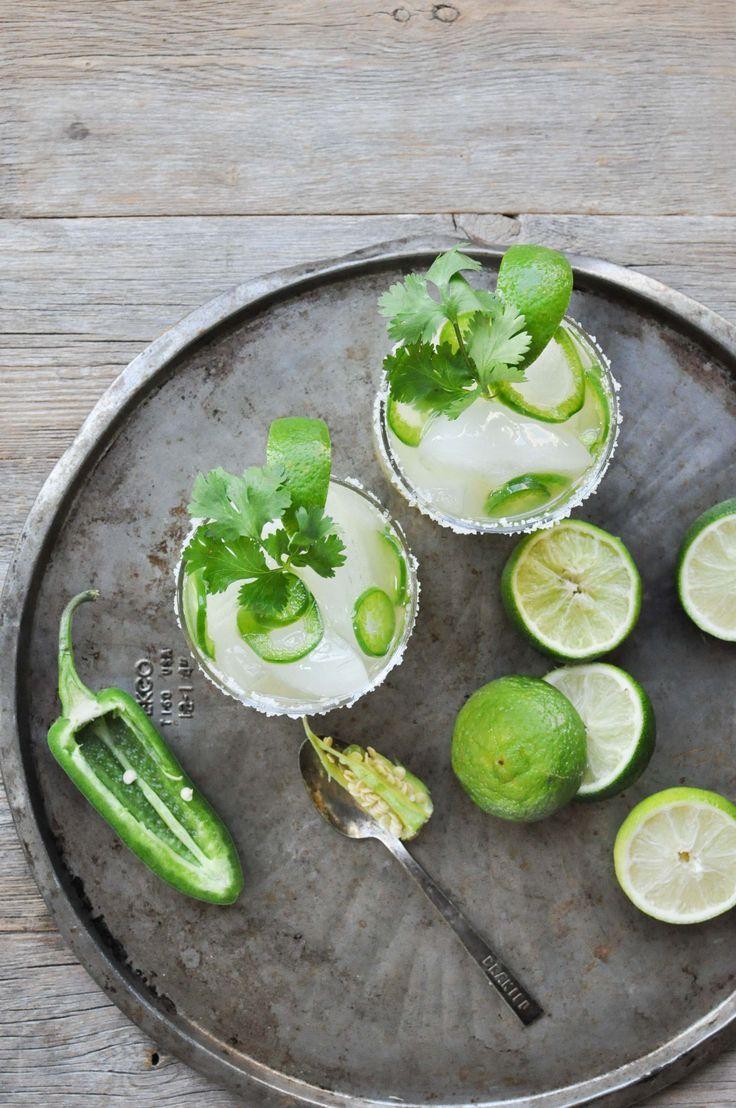 Fresh Lime + Jalapeno Margarita