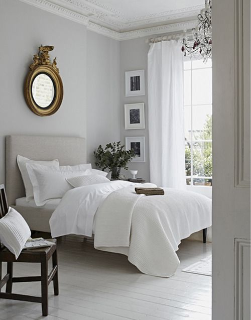 Elorablue White Bedroom Styling By Elkie Brown For The White Company