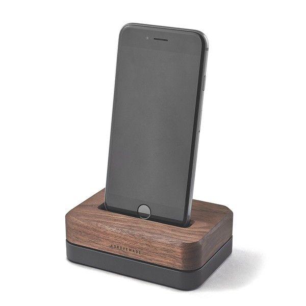 grovemade iPhone dock