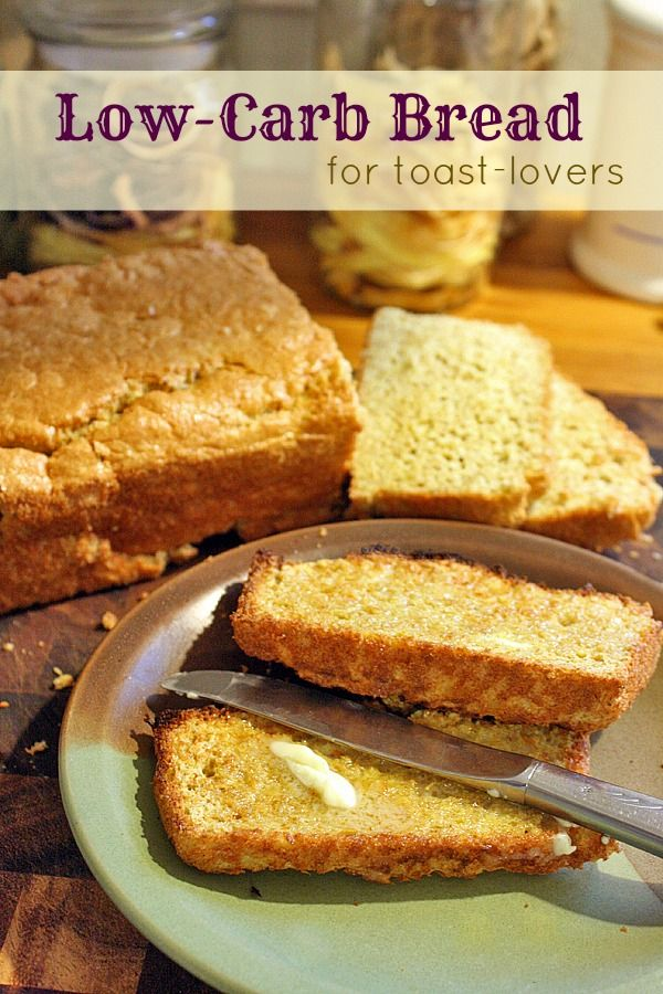 Low-Carb Bread for Toast Lovers - made with Flaxseed and Chickpea flour