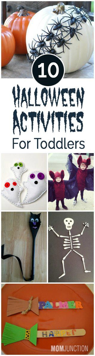 Halloween is a great time to share with your children. Know interesting Halloween crafts & activities for toddlers given here. You will love doing them for your child.