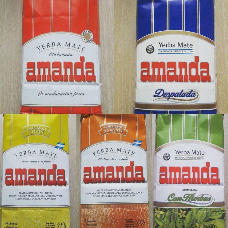 Znacie yerba mate firmy Amanda? 😎  Jedna z naszych ulubionych, a w dodatku z polskimi korzeniami :)