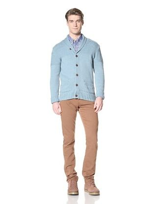 Ben Sherman Men's Shawl Collar Cardigan
