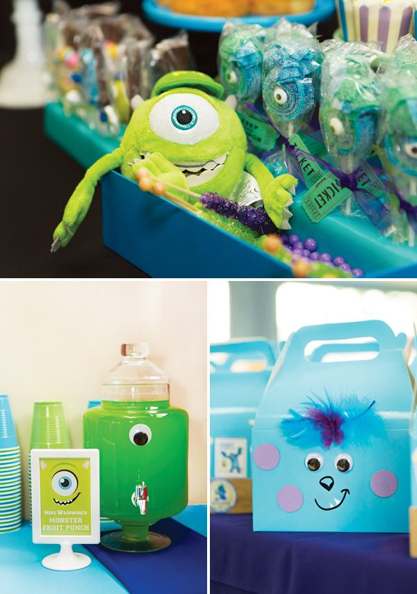 246 best monster baby shower images on Pinterest | Birthday party ...